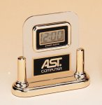 Acrylic Clock With LCD Movement Desk Clocks